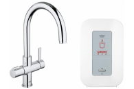Смеситель Grohe Blue Red Duo 30083000